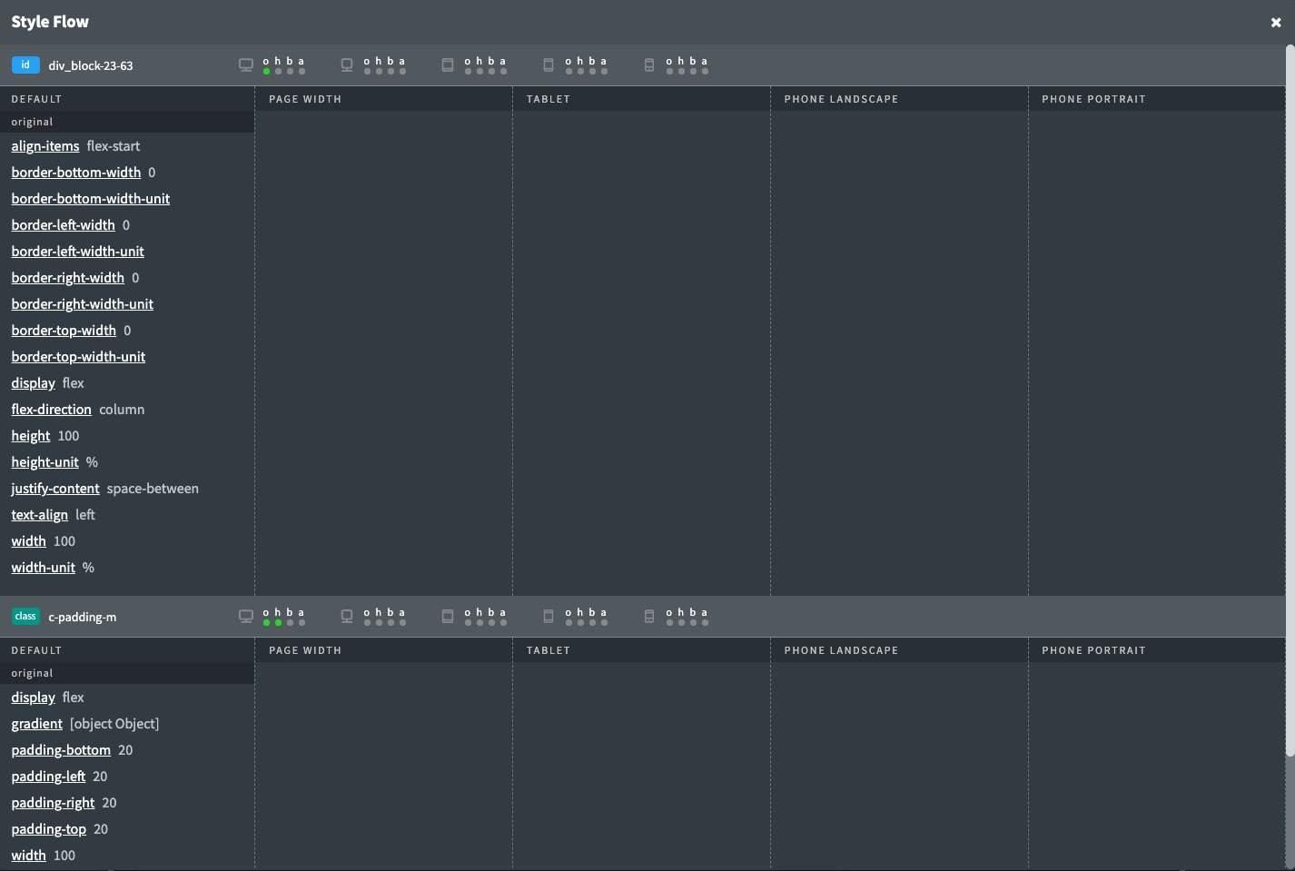 Editor Enhancer Style Flow