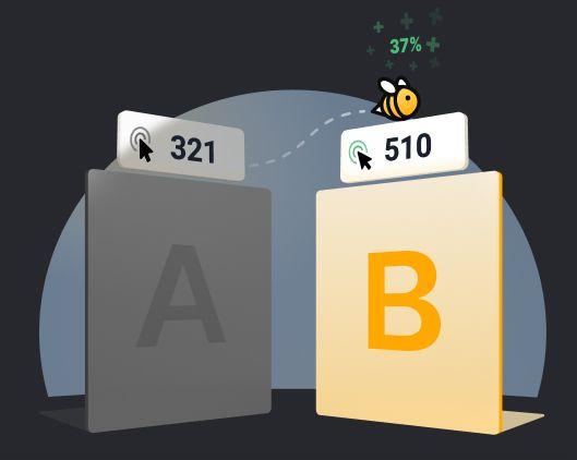 splitbee a/b split testing tools